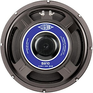 Eminence-Legend-B810-10--Bass-Speaker-Standard