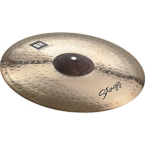 Stagg-DH-Dual-Hammered-Exo-Medium-Thin-Crash-Cymbal-13-