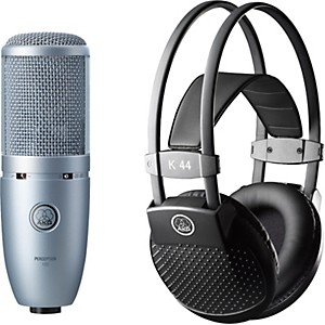 AKG-Perception-120-Condenser-Mic-with-K-44-Headphones-Standard