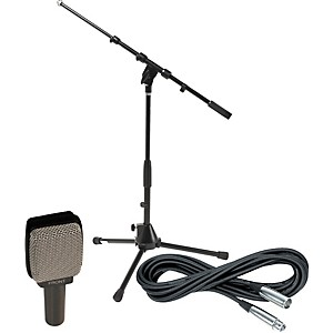 Sennheiser-E609-Dynamic-Guitar-Mic-with-Stand-and-Cable-Standard