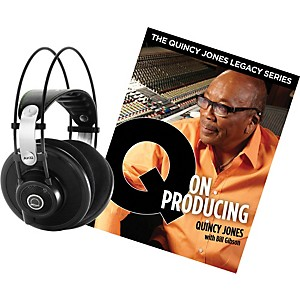 AKG-Quincy-Jones-Q701-Headphones-with-Q-on-Producing-Book-Black