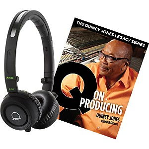 AKG-Quincy-Jones-Q460-Headphones-with-Q-on-Producing-Book-Black