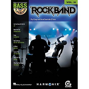 Hal-Leonard-ROCK-BAND---BASS-PLAY-ALONG--MODERN-ROCK-EDITION--VOLUME-21-BOOK-CD-Standard