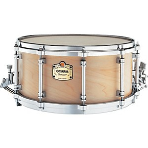 Yamaha-GSM1465-Grand-Symphonic-Maple-Snare-Drum-w-SS745A-Stand-Standard
