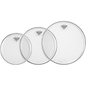 Remo-Emperor-Tom-Drumhead-Pack-Fusion-Clear