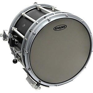 Evans-Hybrid-Marching-Snare-Drum-Batter-Head-Grey-13in