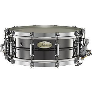 Pearl-Philharmonic-Brass-Concert-Snare-Drum-14X5-0-Black-Nickel