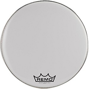Remo-Ambassador-Smooth-White-Bass-Head-with-Crimplock-Collar-White-16-Inch