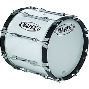 Mapex-QUALIFIER-BASS-DRUM-Snow-White-16-X-14-Inch