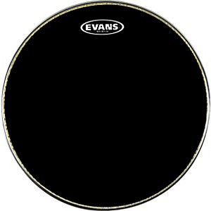 Evans-MX1-Marching-Bass-Drum-Head-Black-16-Inch