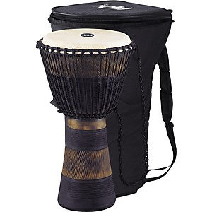 Meinl-Earth-Rhythm-Series-Original-African-Style-Rope-Tuned-Wood-Djembe-with-Bag-Extra-Large
