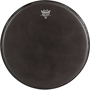 Remo-Emperor-Ebony-Suede-Marching-Bass-Drumhead-Black-Suede-14