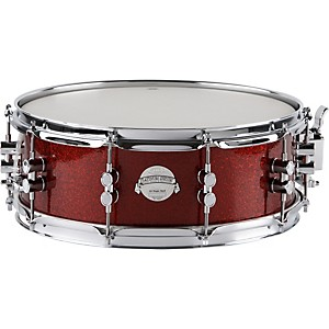 PDP-Platinum-Finishply-Solid-Maple-Snare-5X14-Red-Sparkle