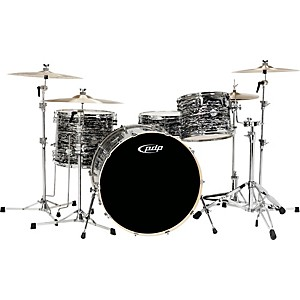 PDP-Platinum-Finishply-Bass-Drum-with-Tom-Mount-18X22-Black-Oyster-Sparkle
