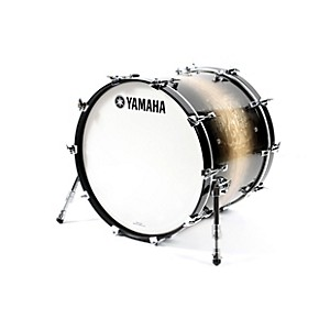 Yamaha-Phoenix-Bass-Drum-without-Tom-Mount-22-In-X-18-In-Textured-Black-Sunburst
