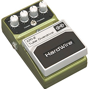 Digitech-HardWire-Series-CM-2-Tube-Overdrive-Guitar-Effects-Pedal-Standard