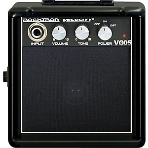 Rocktron-Velocity-Series-VG05-Battery-Powered-Guitar-Combo-Amp-Black
