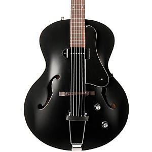 Godin-5th-Avenue-Kingpin-Archtop-Hollowbody-Electric-Guitar-With-P-90-Pickup-Black