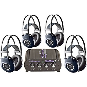 AKG-Headamp-4-K99-Headphone-Four-Pack-Standard