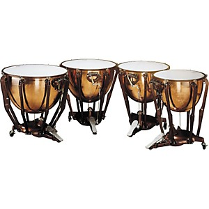 Ludwig-LKS404PG-Stand-Polished-Copper-Timp-Set-Standard
