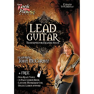 Rock-House-Lead-Guitar-Techniques-for-Creating-Solos--Featuring-John-McCarthy--DVD--Standard
