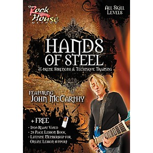 Rock-House-Hands-of-Steel---X-Treme-Strength---Technique-Training--Featuring-John-McCarthy--DVD--Standard
