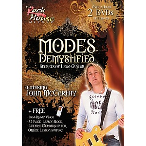Rock-House-Modes-Demystified---Secrets-of-Lead-Guitar-Featuring-John-McCarthy--2-DVD-Set--Standard