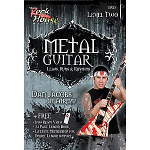 Rock-House-Metal-Guitar---Leads--Runs---Rythyms-Level-2--Featuring-Dan-Jacobs--DVD--Standard