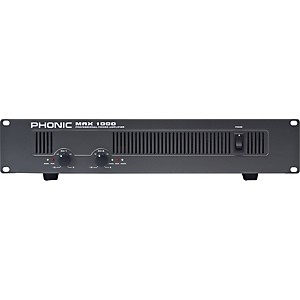 Phonic-MAX-1000-Power-Amplifier-Standard
