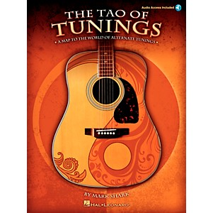 Hal-Leonard-The-Tao-of-Tunings---A-Map-to-the-World-of-Alternate-Tunings--Book-CD--Standard