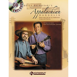 Homespun-APPALACHIAN-MANDOLIN---DULCIMER-BOOK-CD-Standard
