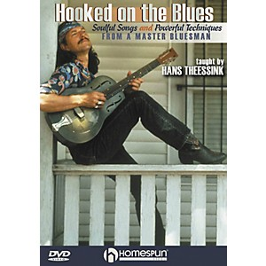 Homespun-Hooked-on-the-Blues---Dynamic-Guitar-Techniques--DVD--Standard