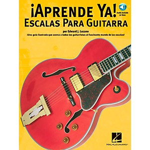 Music-Sales-APRENDE-YA----A-TOCAR-ESCALAS-PARA-GUITARRA-BOOK-CD-Standard