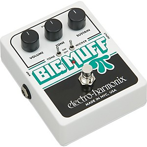 Electro-Harmonix-XO-Big-Muff-Pi-with-Tone-Wicker-Distortion-Guitar-Effects-Pedal-Standard