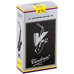 Vandoren-V12-Alto-Saxophone-Reeds-Strength-2-5--Box-of-10