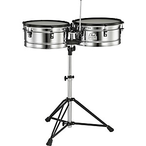 Pearl-Primero-Pro-Steel-Timbale-Set-Standard