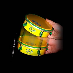 Pearl-Brazilian-Tamborim-with-Clamp---Stick-Standard