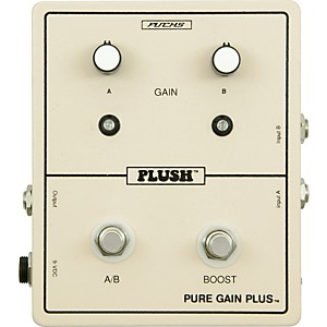 Plush-Pure-Gain-Plus-Boost-Guitar-Effects-Pedal-Standard