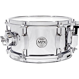 Mapex-MPX-Steel-Snare-Drum-10--X-5-5--CHROME