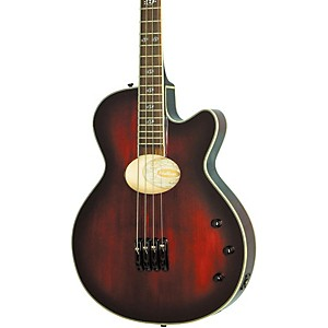 Washburn-AB40SH-Stu-Hamm-Acoustic-Electric-Bass-Black-Cherry-Burst