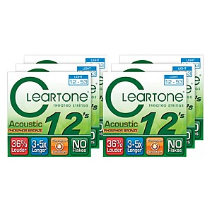 Cleartone-Light-Acoustic-Guitar-Strings-6-Pack-Standard