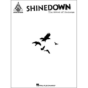 Hal-Leonard-Shinedown---The-Sound-of-Madness--Guitar-Tablature-Songbook--Standard
