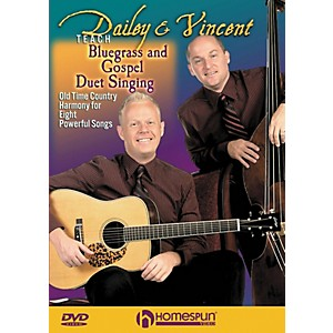 Homespun-Dailey---Vincent-Teach-Bluegrass-and-Gospel-Duet-Singing--DVD--Standard