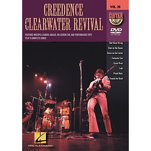 Hal-Leonard-Creedence-Clearwater-Revival---Guitar-Play-Along-DVD--Volume-20-Standard