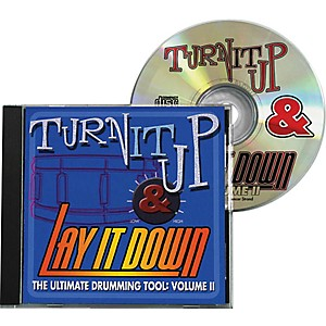 Drum-Fun-Inc-Turn-It-Up-and-Lay-It-Down--Volume-2---Play-Along-CD-for-Drummers-Standard