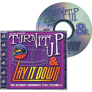 Drum-Fun-Inc-Turn-It-Up-and-Lay-It-Down--Volume-4---Baby-Steps-to-Giant-Steps---Play-Along-CD-for-Drummers-Standard