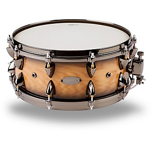 Orange-County-Drum---Percussion-Maple-Snare-6x14--Natural-Black-Burst