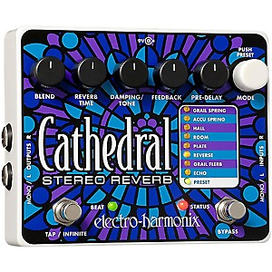 Electro-Harmonix-Cathedral-Stereo-Reverb-Guitar-Effects-Pedal-Standard
