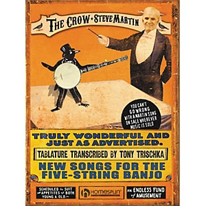 Hal-Leonard-Steve-Martin---The-Crow--New-Songs-for-the-5-String-Banjo--Tab-book--Standard