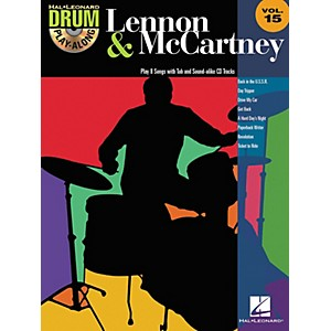 Hal-Leonard-Lennon---McCartney---Drum-Play-Along-Volume-15--CD-Booklet--Standard